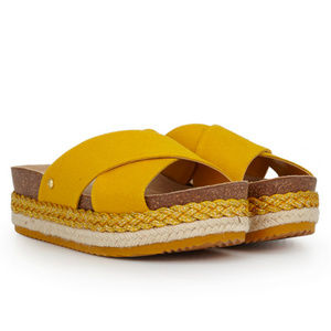 [Sam Edelman] Yellow Ola Sandel